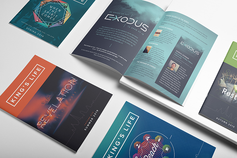 Church Booklet Design – King's Life