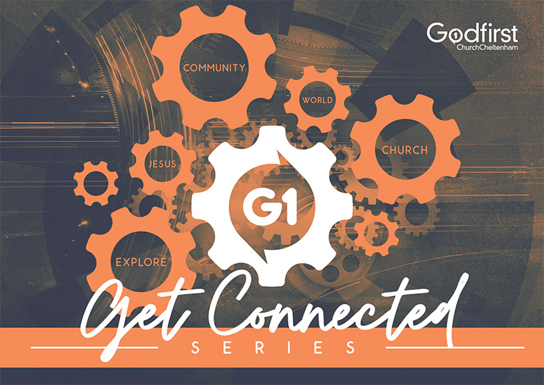 Church Flyer Design and Print: Godfirst – Connect Groups
