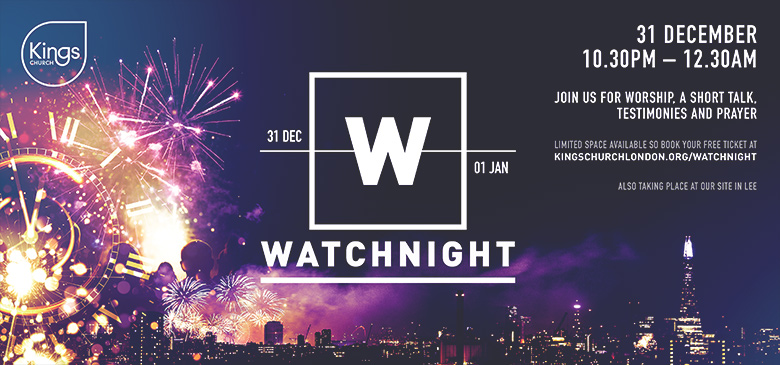 Church Flyer Design and Print: KCL – Watchnight