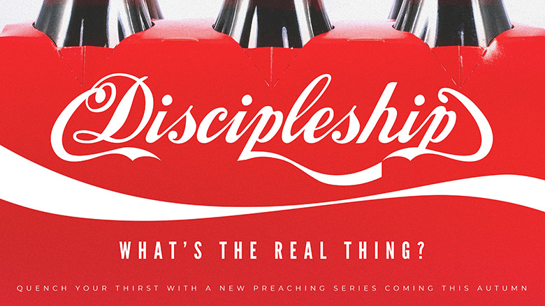 Preaching Series Artwork – Discipleship – What's the real thing?